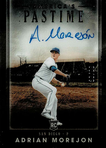 2020 Panini Chronicles Baseball America's Pastime Adrian Morejon