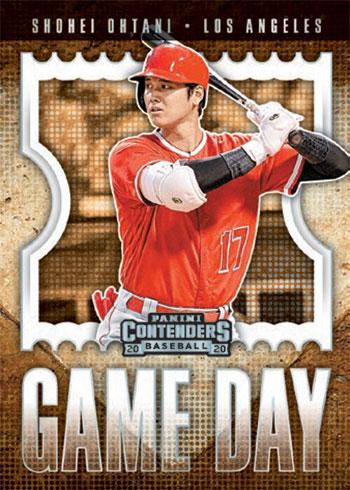 2020 Panini Contenders Baseball Game Day
