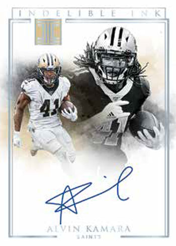 2020 Panini Impeccable Football Indelible Ink