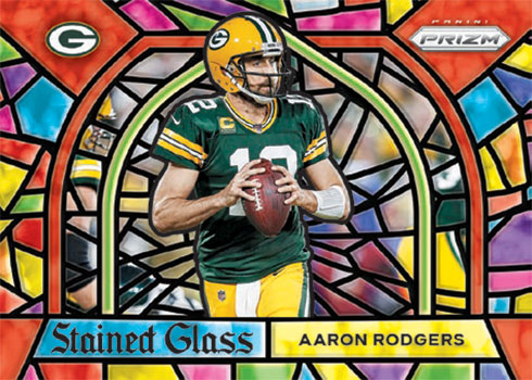 2020 Panini Prizm Football Stained Glass