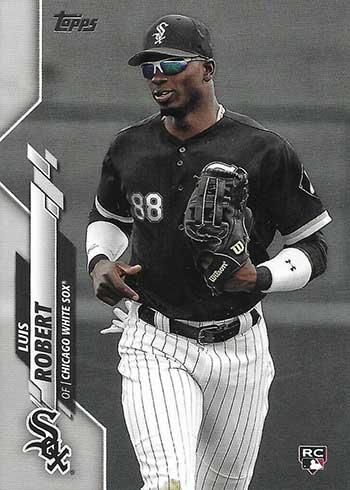 2020 Topps Baseball Retail Factory Set Rookie Variations Luis Robert