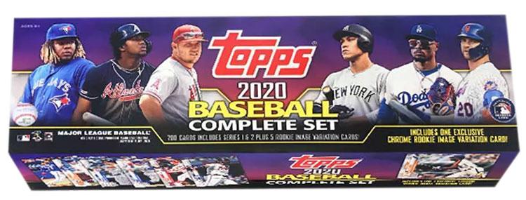 2020 Topps Baseball Factory Sets Target Purple