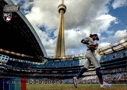 2020 Topps Stadium Club Baseball Bo Bichette RC