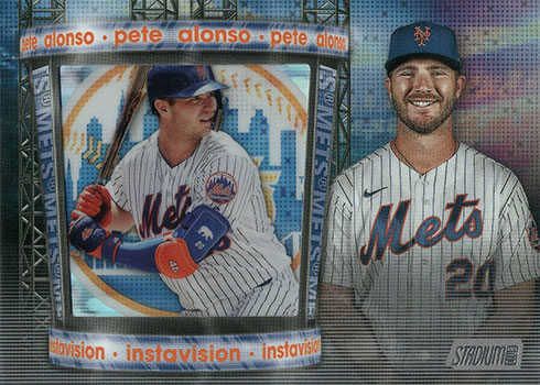 2020 Topps Stadium Club Baseball Instavision Pete Alonso