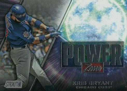 2020 Topps Stadium Club Baseball Power Zone Kris Bryant