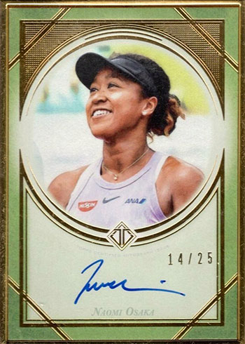 2020 Topps Transcendent Tennis Naomi Osaka Autograph
