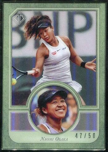 Naomi Osaka Cards - 2020 Topps Transcendent Tennis Hall of Fame