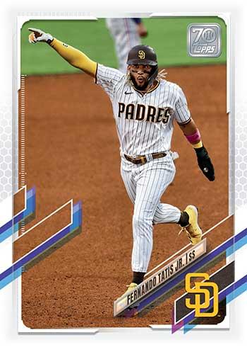 2021 Topps Baseball Fernando Tatis Jr.