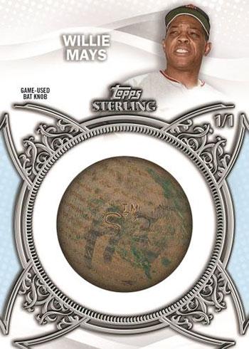 2021 Topps Sterling Baseball Bat Knob