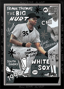Topps Project 2020 268 Frank Thomas by Sophia Chang