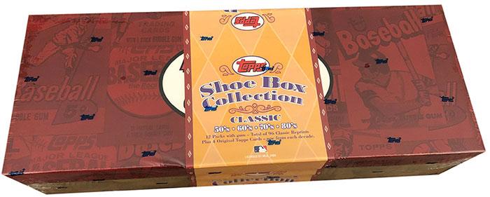 2003 Topps Shoebox Baseball Box