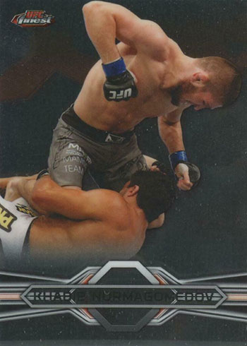 Khabib Nurmagomedov Cards - 2013 Finest UFC