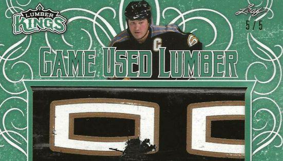 2019 20 Leaf Lumber Kings Hockey Game Used Lumber Emerald Mario Lemieux Feature 551x315.