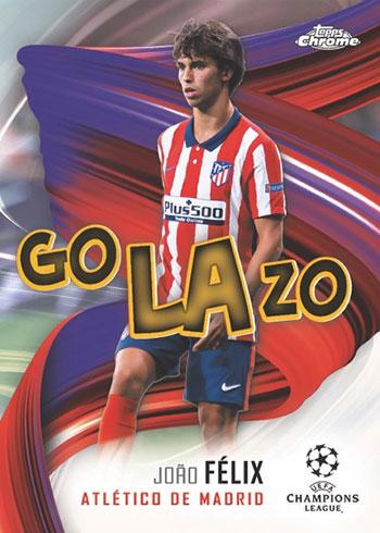 2020-21 Topps Chrome UEFA Soccer Golazo
