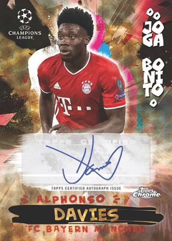 2020-21 Topps Chrome Soccer Joga Bonito Superfractor Autograph