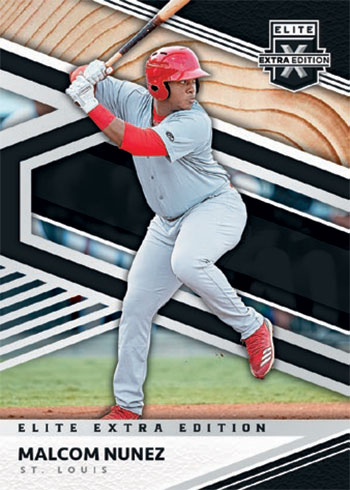 2020 Panini Elite Extra Edition Baseball Base