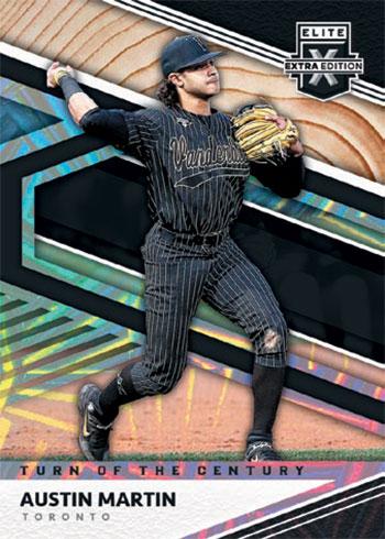 2020 Panini Elite Extra Edition Baseball Turn of the Century