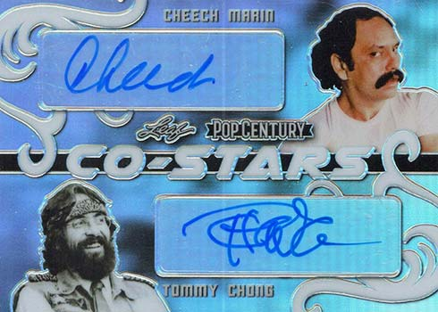 2020 Leaf Metal Pop Century Classic Roles Cheech Marin Tommy Chong