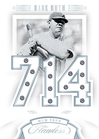 2020 Panini Flawless Baseball Legends Gems Babe Ruth