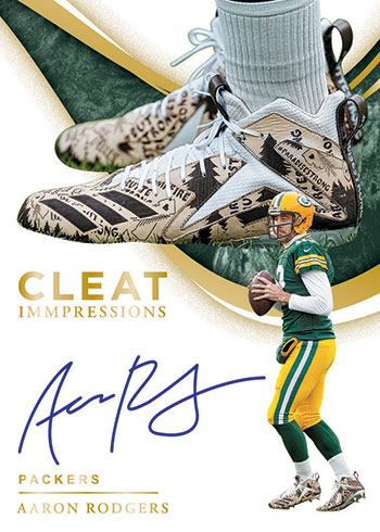 2020 Panini Immaculate Football Cleat Impressions