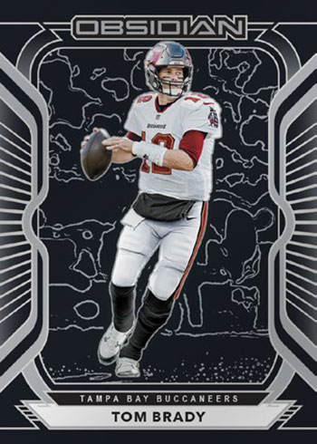 2020 Panini Obsidian Football Tom Brady