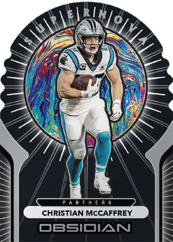 2020 Panini Obsidian Football Supernova