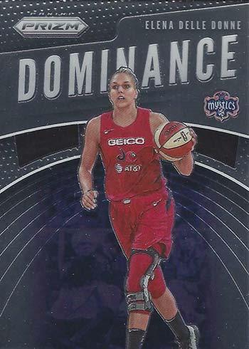 2020 Panini Prizm WNBA Dominance Elena Delle Donne