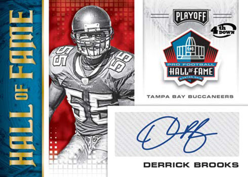 2020 Playoff Football Hall of Fame Autographs