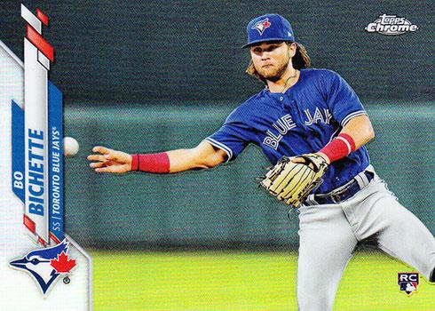 2020 Topps Baseball Factor Sets Chrome Rookie Image Variations Bo Bichette