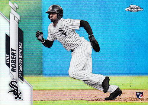 2020 Topps Baseball Factory Sets Chrome Rookie Variation Luis Robert