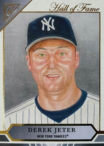 2020 Topps Gallery Baseball Hall of Fame Gallery Derek Jeter