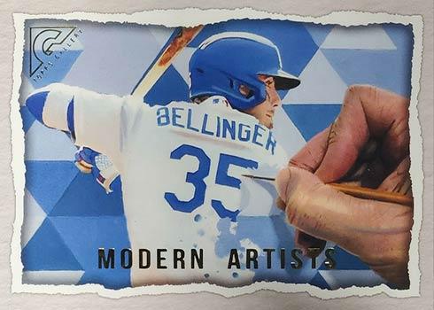 2020 Topps Gallery Baseball Modern Artists Cody Bellinger