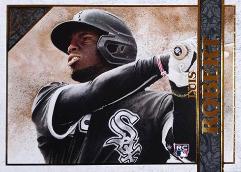 2020 Topps Gallery Baseball Luis Robert Rookie Card
