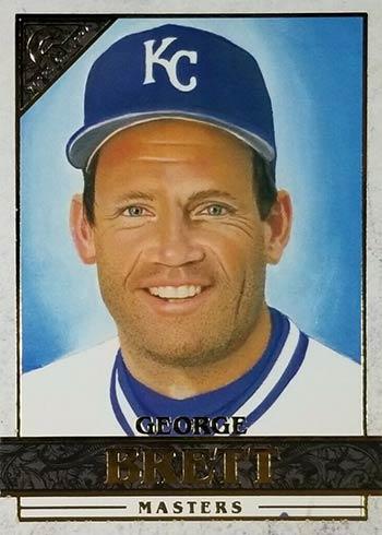 2020 Topps Gallery Baseball George Brett