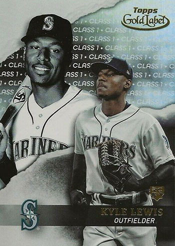 2020 Topps Gold Label Baseball Class 1 Kyle Lewis RC