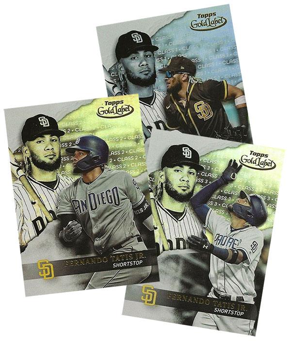 2020 Topps Gold Label Baseball Fernando Tatis Jr.