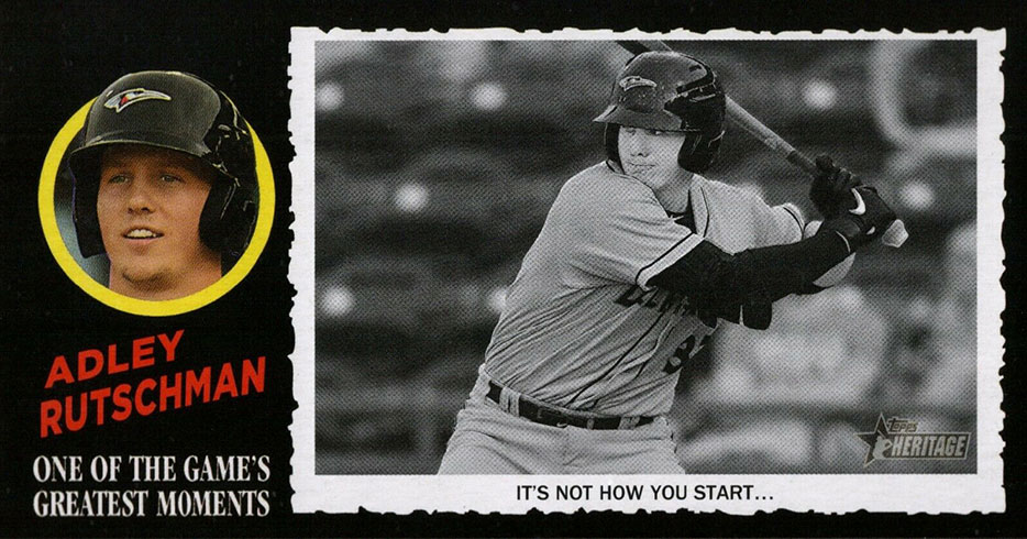 2020 Topps Heritage Minors Baseball 1971 Greatest Moments Adley Rutschman