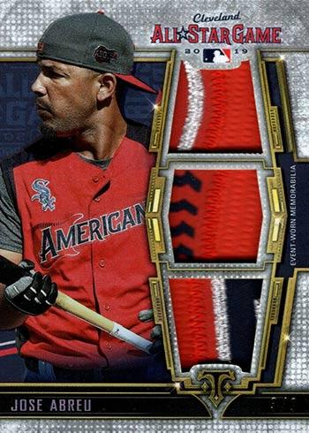 2020 Topps Triple Threads Baseball All-Star Patches Jose Abreu
