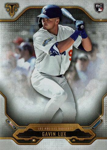 2020 Topps Triple Threads Baseball Gavin Lux RC