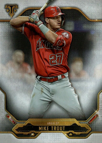 2020 Topps Triple Threads Baseball Mike Trout