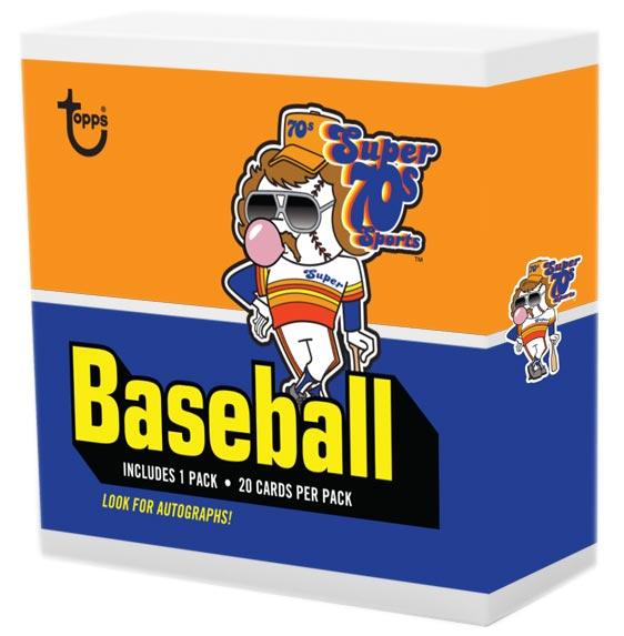 2020 Topps x Super 70s Sports Baseball Box