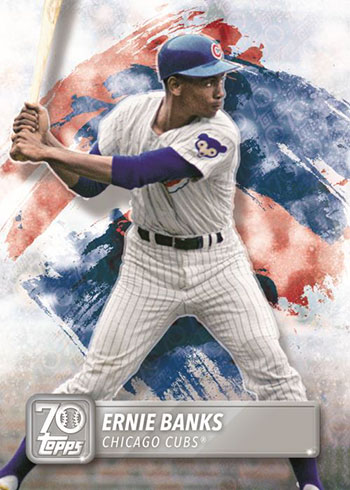 2020 Topps MLB Sticker Collection 70 Years of Topps