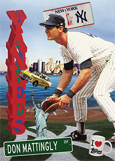 Topps Project 2020 278 Don Mattingly by Don C