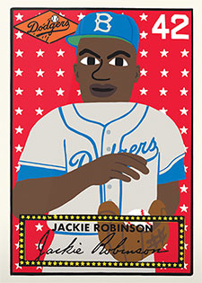 Topps Project 2020 281 Jackie Robinson by Keith Shore