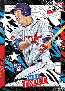 Topps Project 2020 282 Mike Trout by Tyson Beck