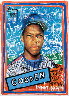 Topps Project 2020 290 Dwight Gooden by Gregory Siff