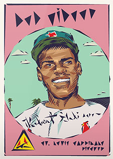Topps Project 2020 295 Bob Gibson by Naturel