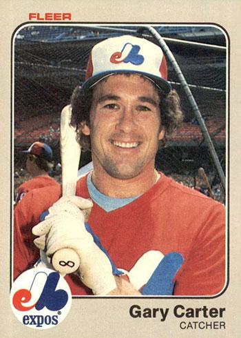 1983 Fleer Baseball Gary Carter