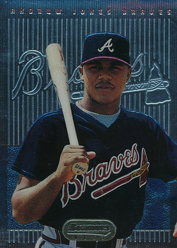 1995 Bowman's Best Baseball Andruw Jones Rookie Card