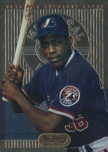 1995 Bowman's Best Vladimir Guerrero Rookie Card